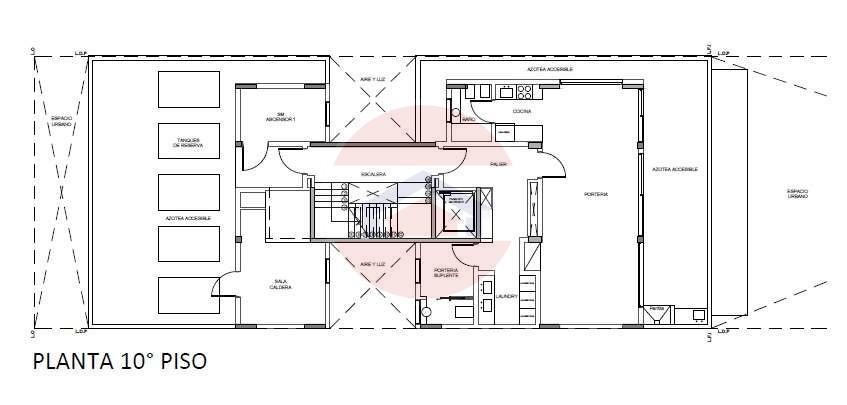 Plano 10mo piso