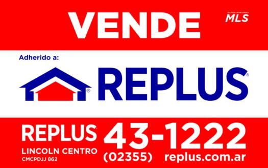 REPLUS cartel Lincoln Centro BA