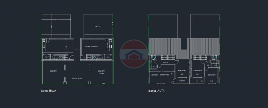 Planos Unidad Duplex 1-2-3 y 4