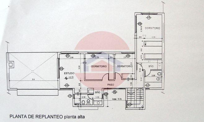 Plano de Planta Alta
