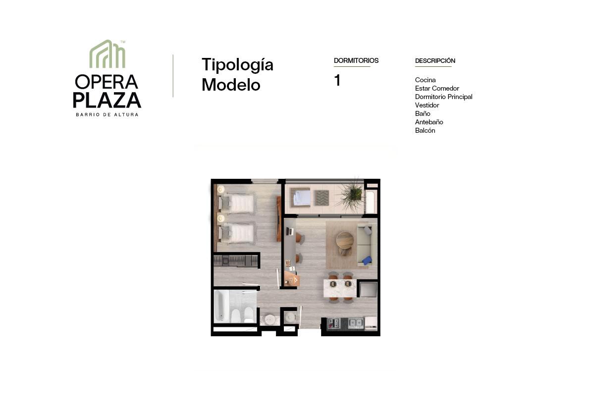 Plano Opera Plaza Torre 2