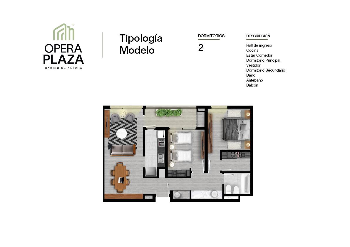 Plano Opera Plaza Torre 3