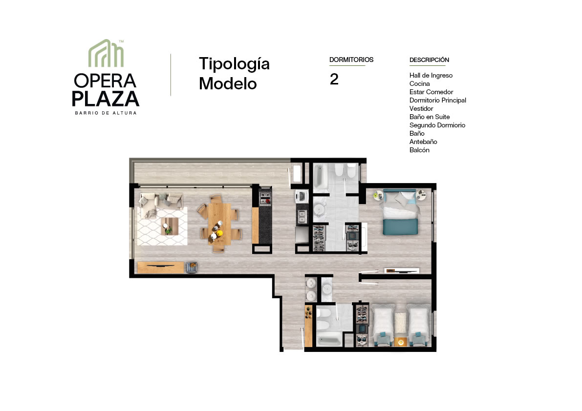 Plano Opera Plaza Torre 4
