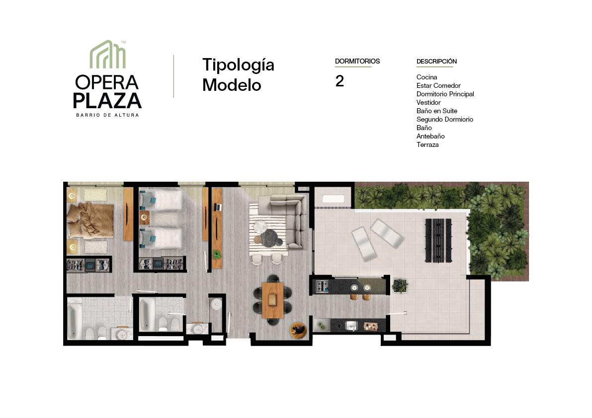 Plano Opera Plaza Torre 5